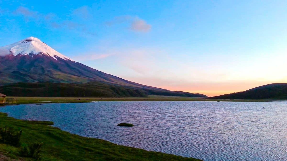 Grandiosos paisajes en el páramo andino