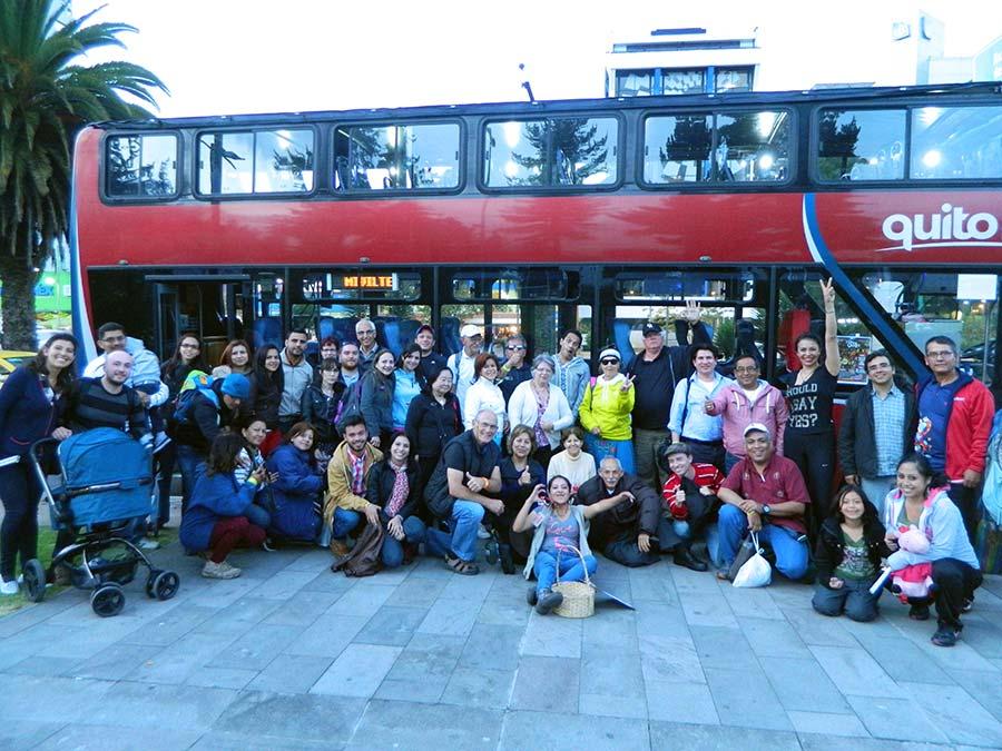 Quito Tour Bus Mitad Del Mundo