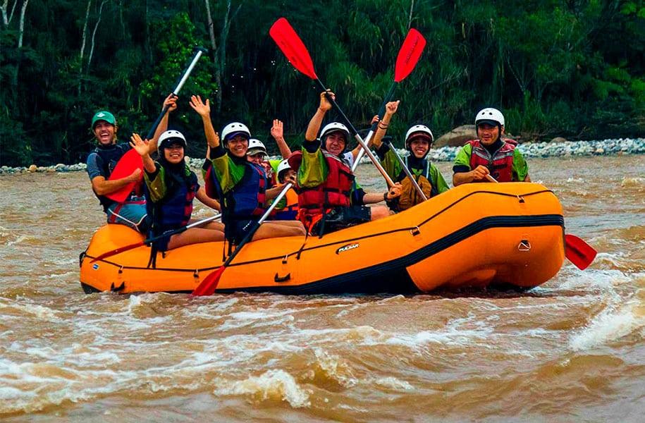 RAFTING CLASS III – JATUN YACU RIVER
