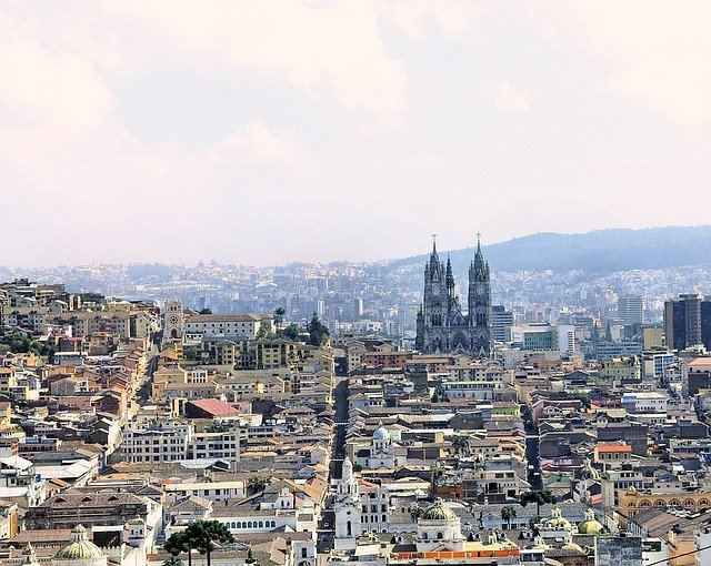 Quito historic distric