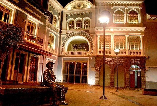 Quito historic disric