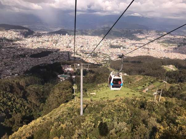 what to do in quito teleferico