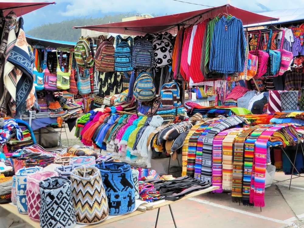 Otavalo market clothes