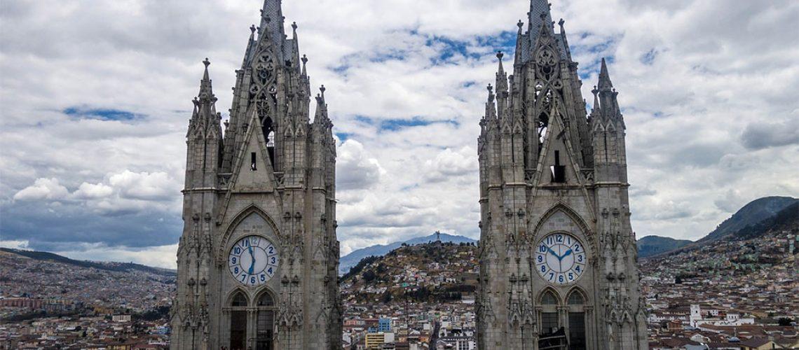 churches in quito