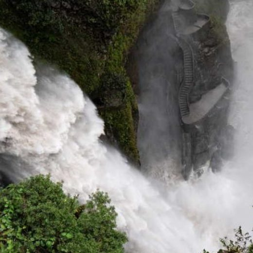 how to get to baños